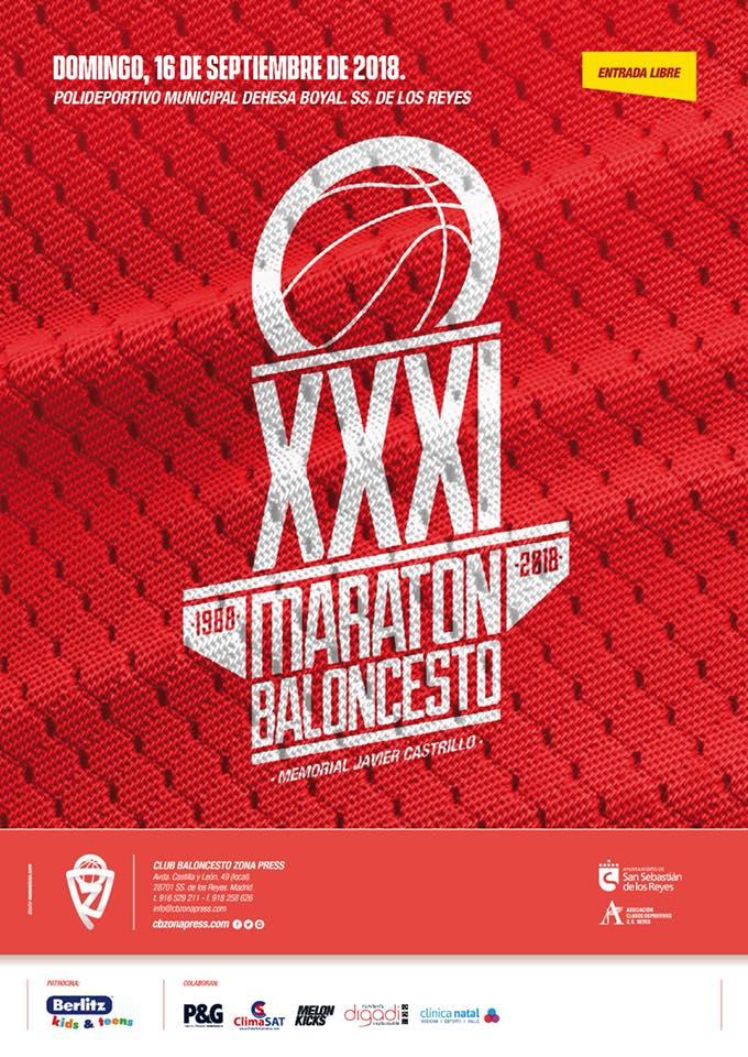 16 de septiembre. XXXI edición del  Maratón de Baloncesto