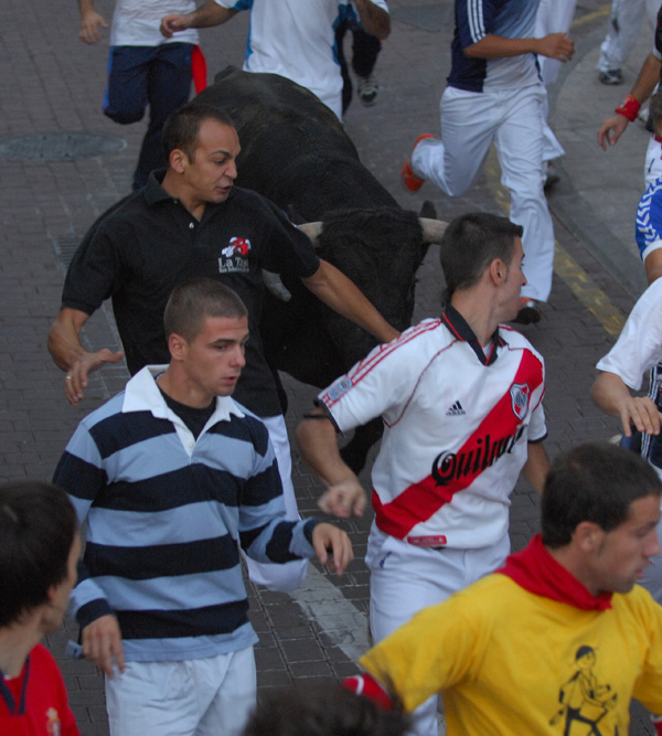 Foto encierro 31 de agosto de 2009