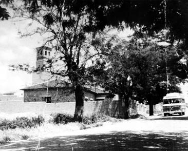 Una vista de la calle Real en los años 60