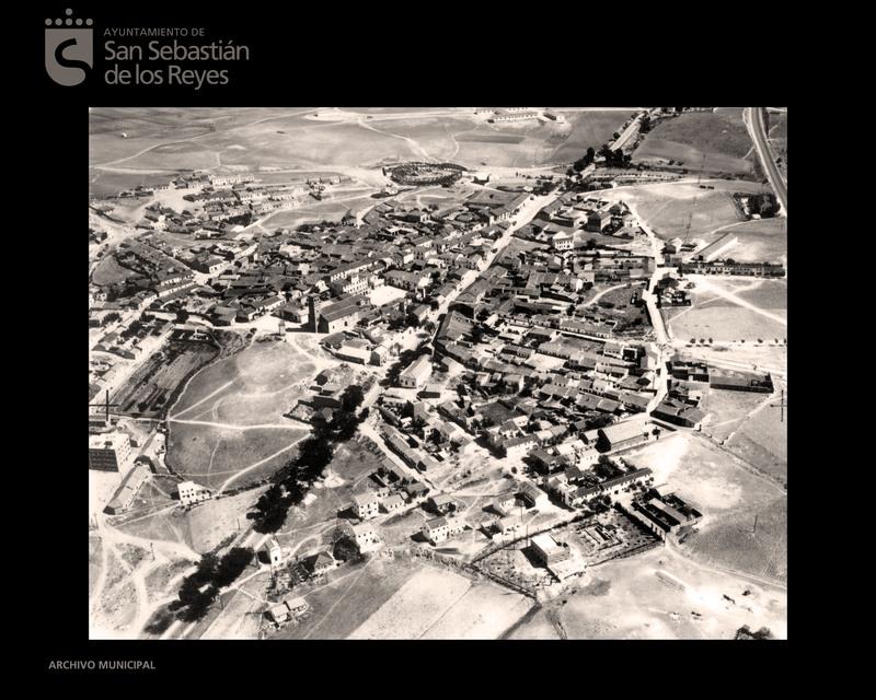 Foto aérea del año 1961