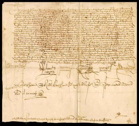 1525, marzo, 24. Madrid. AM SSREYES