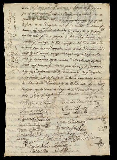 1 de mayo de 1808. Reverso