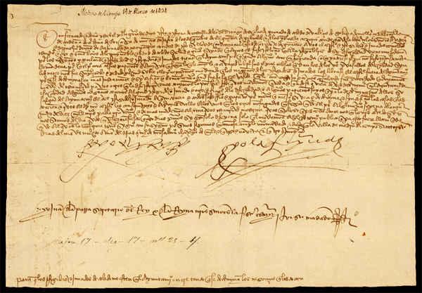 1494, marzo, 14. Medina del Campo. Archivo Municipal de Toledo