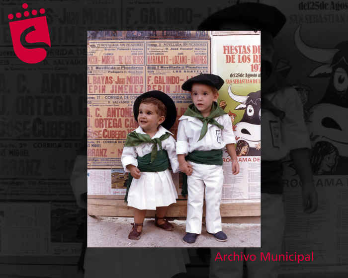 Niños de la Peña Los Olivares. Año 1981