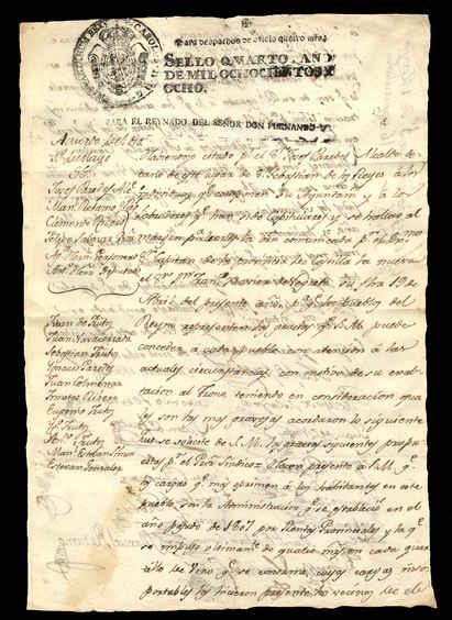 1 de mayo de 1808. Anverso