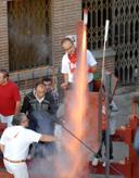 Foto cohetero encierro 28 de agosto de 2009