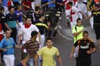 Selección gráfica del encierro del 28 de agosto de 2012