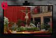 Imagen del Cristo en la Plaza de la Constitución