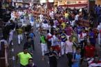 Selección grafica del encierro del 29 de agosto de 2012