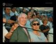 Angel Luis Bienvenida y Mari Montes en los tendidos