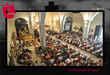 Imagen Cristo con la iglesia llena