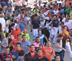 3500 corredores han participado hoy en el encierro