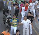 Unos 3.100 corredores participaron en este quinto encierro.