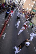 Selección fotográfica del tercer encierro de 2012