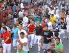 Selección  de imágenes del encierro del 30 de agosto