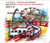 Carteles anunciadores de las Fiestas y Encierros 2013