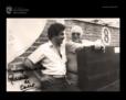 Felipe Herrero y su suegro Eduarno San Nicolás en 1982