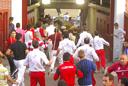 Foto del encierro del 30 de agosto de 2009