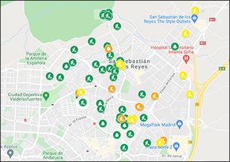 Enlace a mapa de desarrollo de obras en Sanse