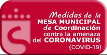 Medidas de la MESA MUNICIPALde Coordinación contra la amenaza del CORONAVIRUS