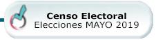 Censo e Información Elecciones locales, al Parlamento Europeo y a la Asamblea de Madrid. Mayo 2019