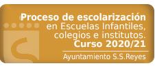 Información plazos escolarización. Curso 2020/21