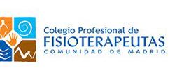 Logo del Colegio Profesional de Fisioterapeutas de la Comunidad de Madrid