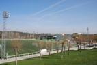 Campo fútbol hierba artificial