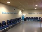 Sala de espera de natación