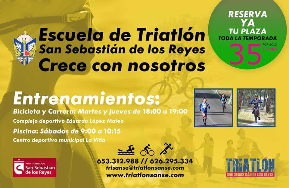 Escuela de Triatlon de S.S. Reyes