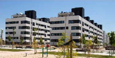 Edificio de 103 viviendas de protección pública en la parcela A2-1A de Tempranales