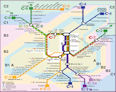 Plano Líneas de Cercanias C.M.