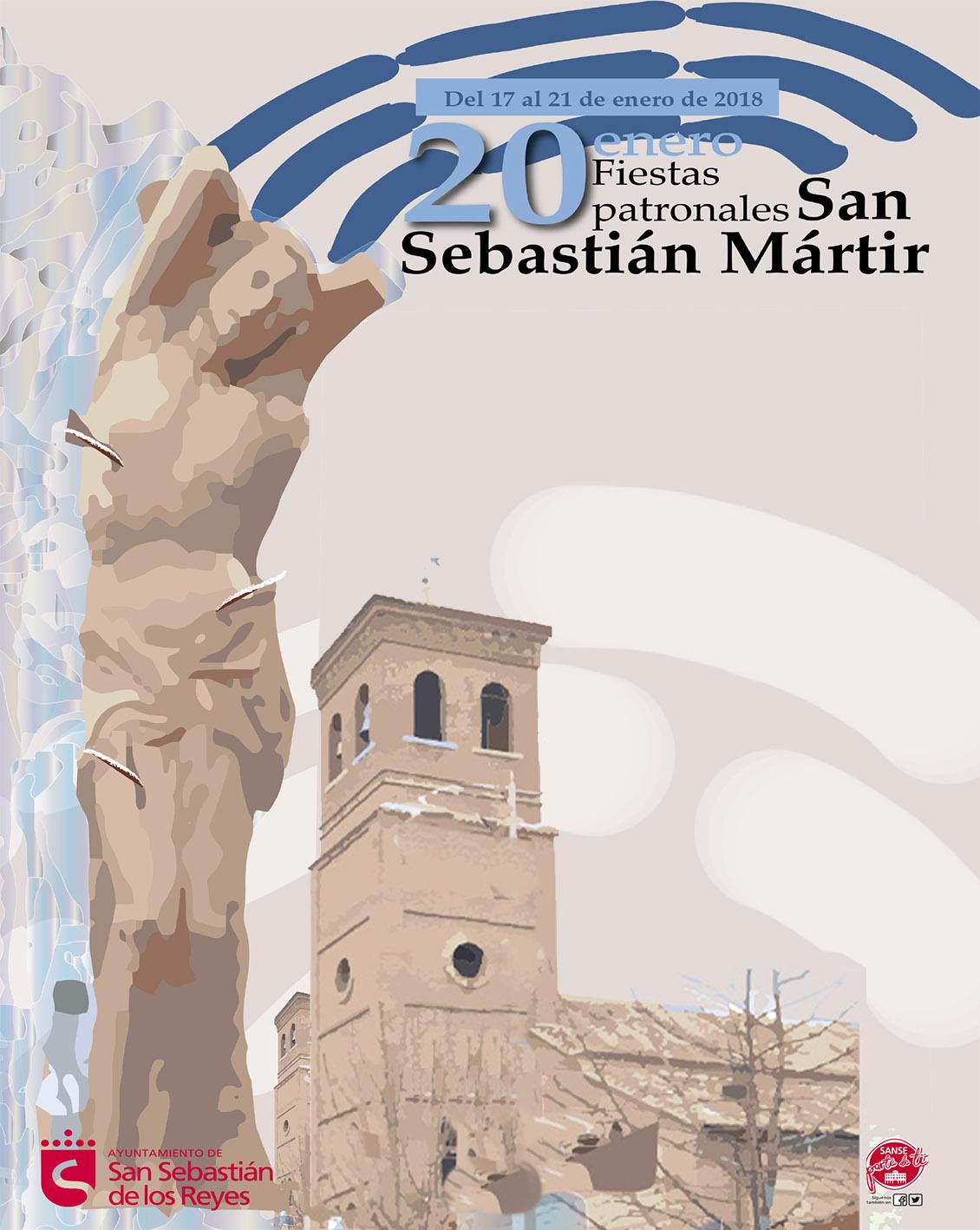 Cartel San Sebastián Mártir_2018