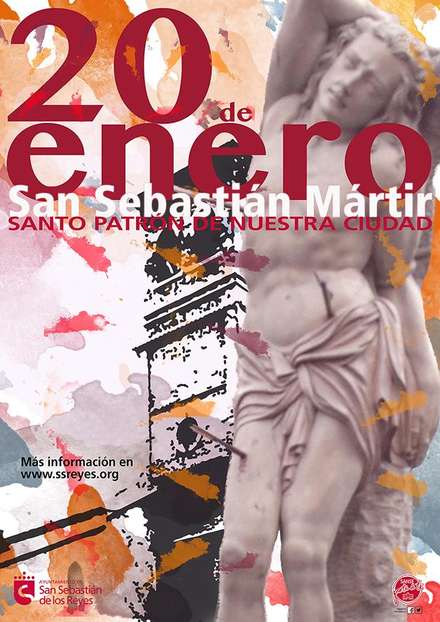 Cartel Fiestas San Sebastián Mártir