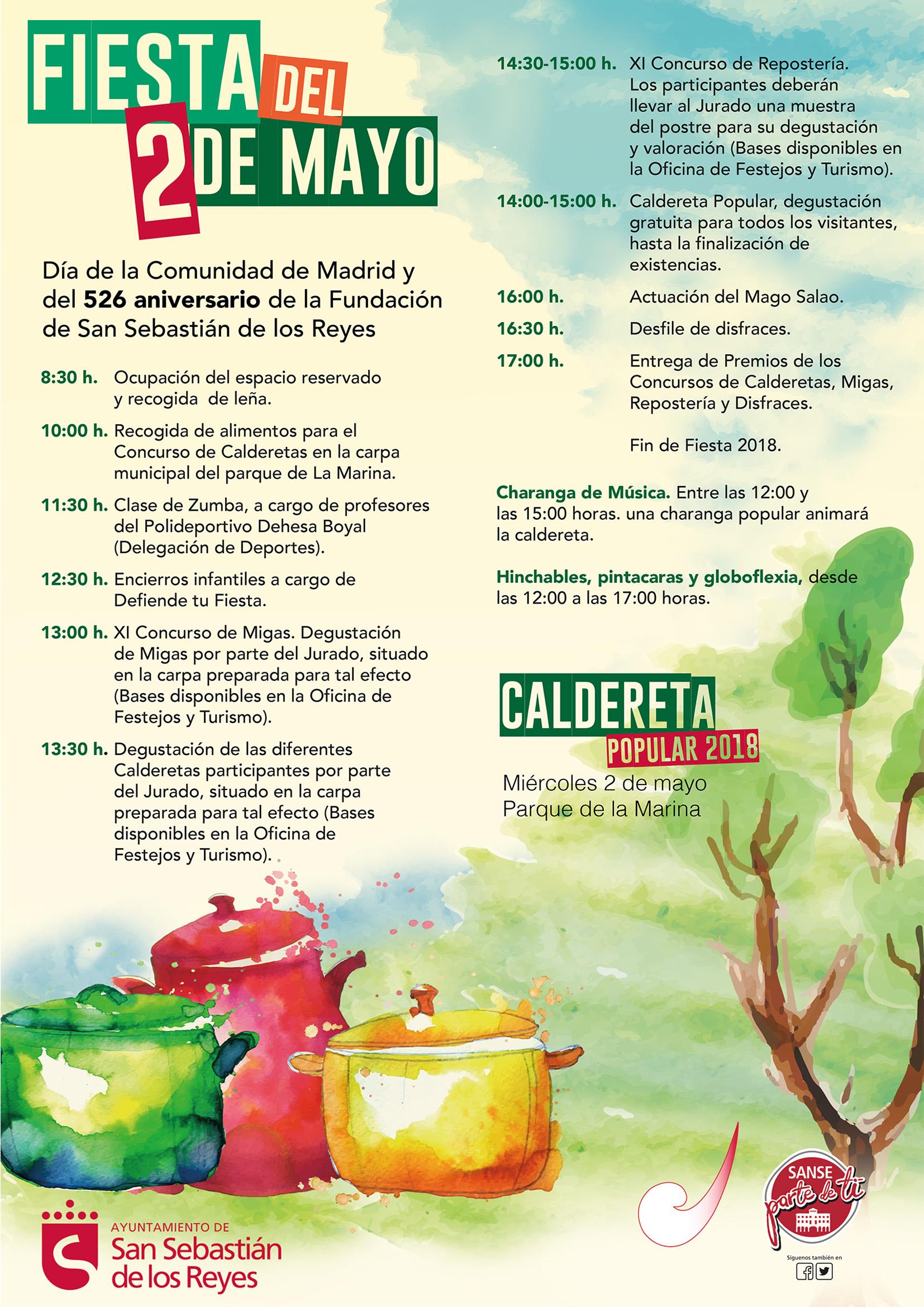 Cartel Fiestas 2 de Mayo_2018