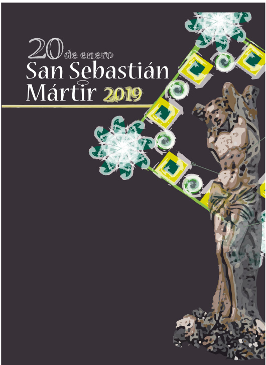Cartel de San Sebastíán Mártir 2019