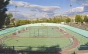 Estadio de atletismo y campo de fútbol