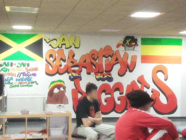Graffitti en Espacio Abierto