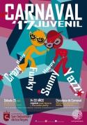 Cartel Carnaval Juvenil 2017