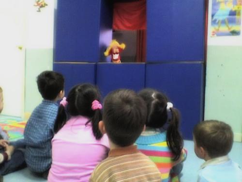 Marionetas en diverteca