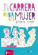 Cartel de la IV Carrera del Día Internacional de la Mujer. 8 de marzo de 2015