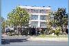 Fachada del centro municipal Gloria Fuertes