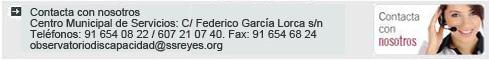 Contactar con Centro Municipal de Servicios. Tel. 91 654 08 22