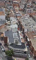 Vista aérea de la calle Esperanza Abad