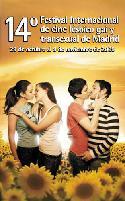 Cartel del 14º festival lésbico y gay de Madrid