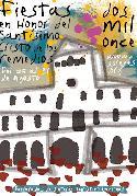 Cartel de Fiestas 2011, con una recreación de la fachada del Ayuntamiento