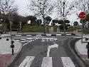 Zona afectada por la reordenación en el tráfico rodado en las avenidas de Castilla La Mancha y Valdelasfuentes.