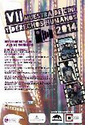 Cartel de la VII MUestra de Cine y Derechos Humanos 2014.