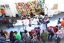 El vestíbulo del Centro Joven, en la Semana de la Infancia 2013.