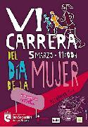 Cartel de la VI Carrera del Día de la Mujer de San Sebastián de los Reyes.